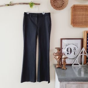 Theory CO-OP Barneys New York Flare Pant Black 0